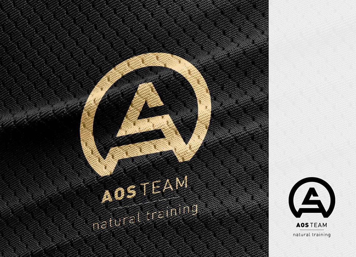 AOS TEAM - IDENTIDAD CORPORATIVA