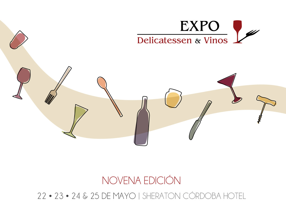 EXPO DELICATESSEN & VINOS - IDENTIDAD CORPORATIVA