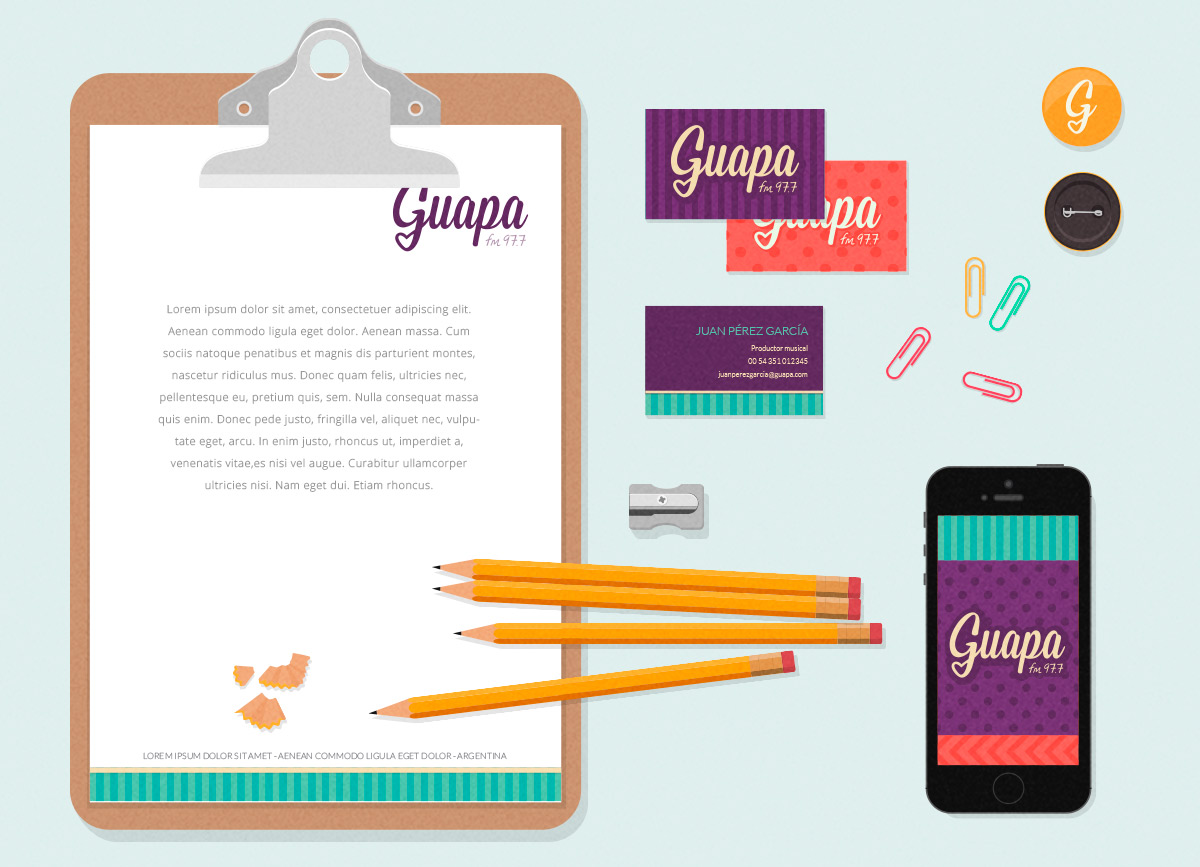 GUAPA - NAMING, IDENTIDAD CORPORATIVA